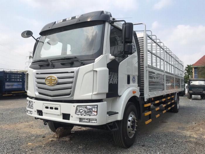 xe tải faw 7.2 tấn thùng 9m7 thùng 49 khối .