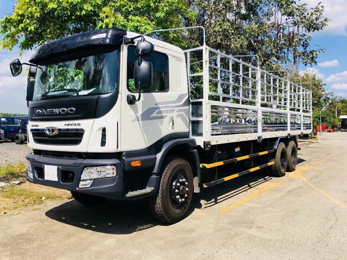 Xe tải DAEWOO 3 chân tải 15 tấn thùng mui bạt dài 9.2m - Trả Góp 4
