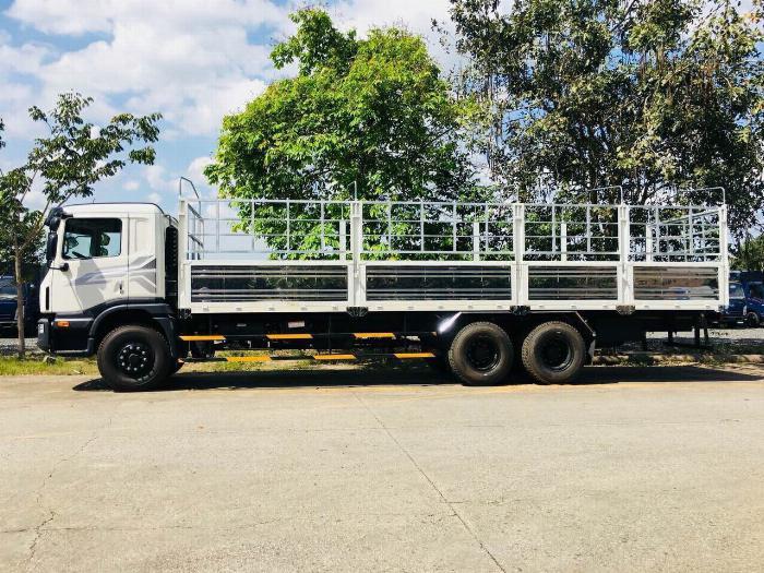Xe tải DAEWOO 3 chân tải 15 tấn thùng mui bạt dài 9.2m - Trả Góp 2