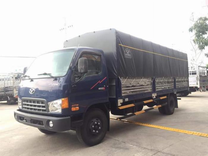 Xe tải HYUNDAI 120SL tải 8 tấn thùng mui bạt dài 6.3m - Trả Góp 4