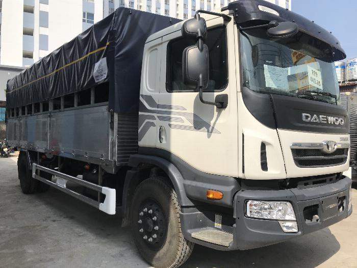 Xe tải DAEWOO thùng mui bạt bửng nhôm dài 7.4m tải 9 tấn - Trả Góp 8