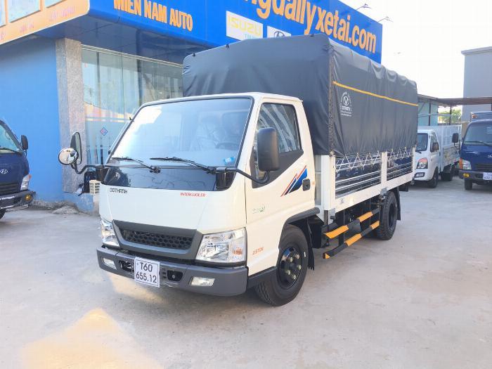 Xe tải ĐÔ THÀNH IZ49 EURO4 2019 tải 2.4 tấn thùng mui bạt dài 4.2m - Trả Góp
