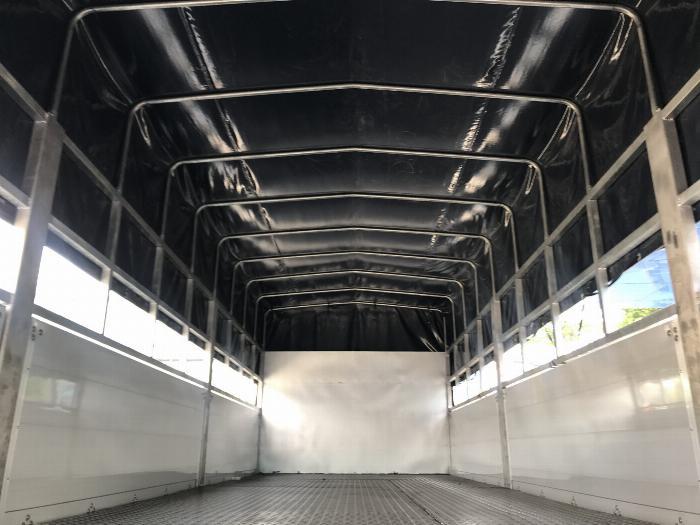 Xe tải DAEWOO thùng mui bạt bửng nhôm dài 7.4m tải 9 tấn - Trả Góp 4