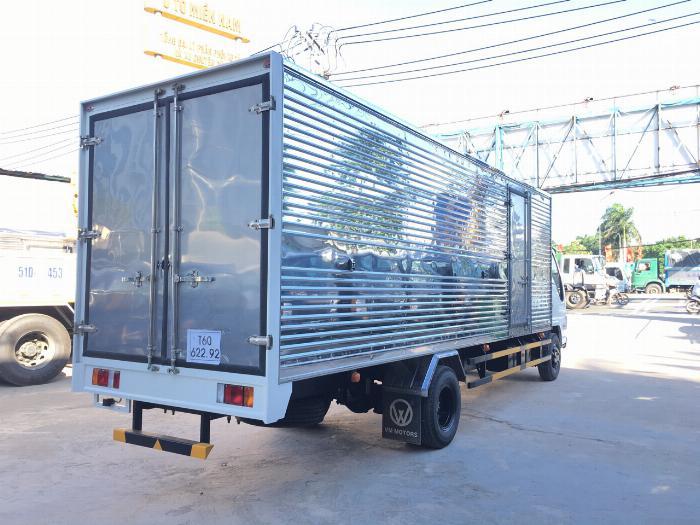 Xe tải ISUZU VM tải 1.9 tấn thùng kín dài 6.2m - Trả Góp 2