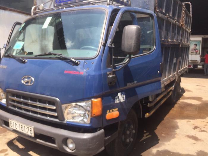 bán xe tải hyundai hd 65 tải 2t4 thùng cao 2m4 5