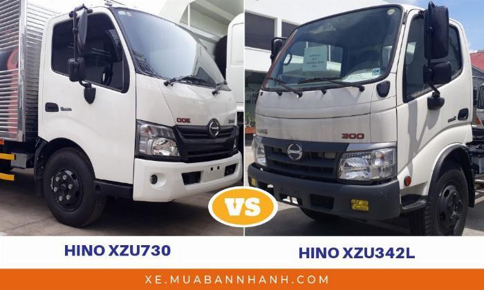 So sánh Hino 5 tấn nhập khẩu và Hino lắp ráp trong nước