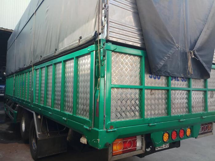 cần bán xe tải hd210 đời 2015 tải 14 tấn thùng dai 7m4 giá tốt