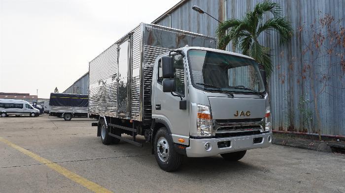 xe tải JAC 6t5 thùng dài 5.3m, tặng hộp đen, hỗ trợ trả góp lãi ưu đãi
