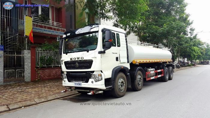 Bán xe Phun Nước Rửa Đường 17 khối. Howo T5G nhập khẩu nguyên chiếc 2019 1