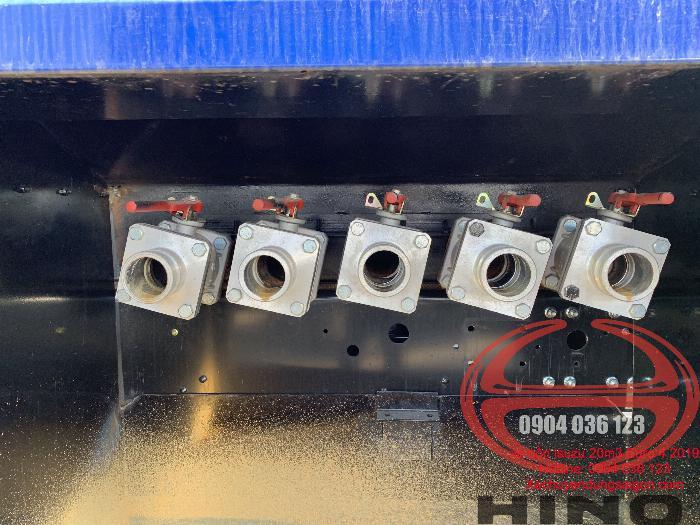 Gía xe bồn chở xăng 6 khối, xe bồn 6 khối Hino, xe bồn hino 6 khối, xe bồn 6m3