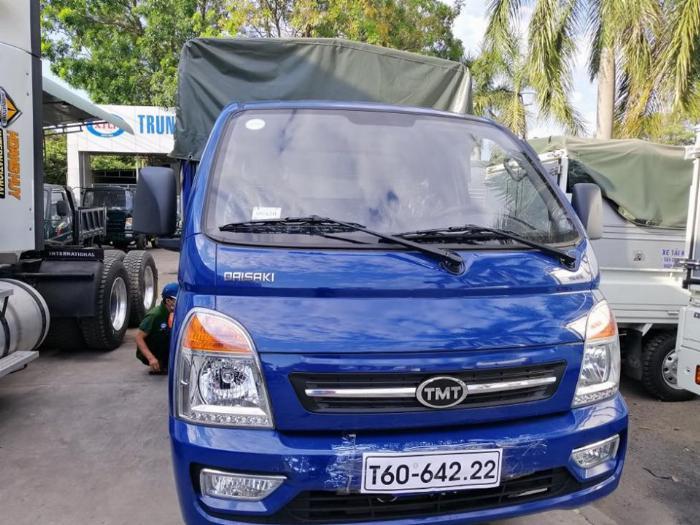 xe tải daisaki 2t5 thùng phủ bạc 9