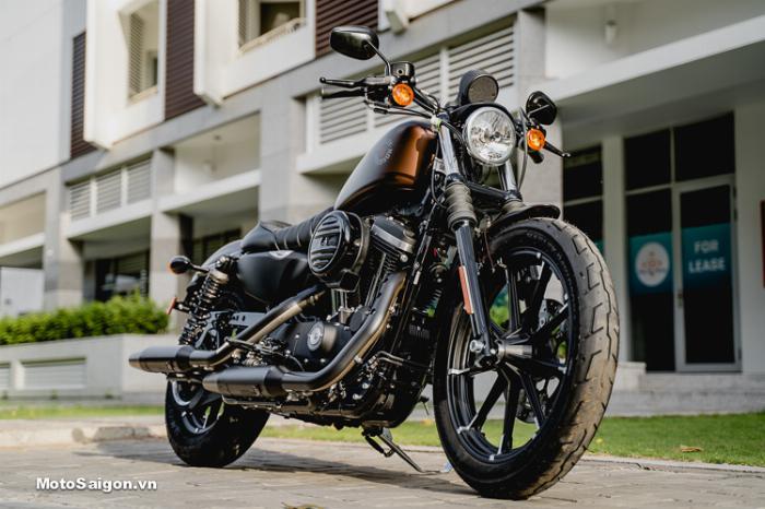 Harley Davidson Iron 883cc Chính Hãng 100% 6