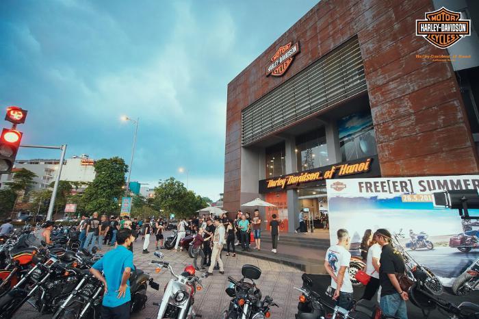 Showroom Harley Davidson Hà Nội