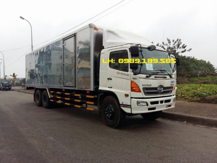 Xe tải Hino 500 FL, FM, Xe hino 15t/ hino 15 tấn mui bạt, kín 3