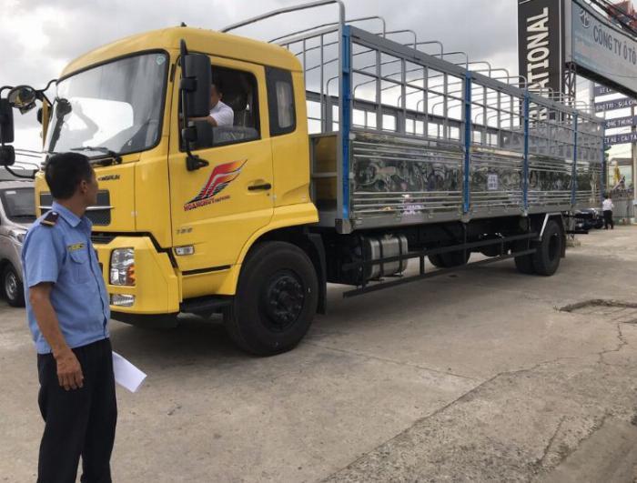 Giá xe tải DongFeng B180  9t3 thùng 7M6 Thiện Lộc ô tô Phú Mẫn 4