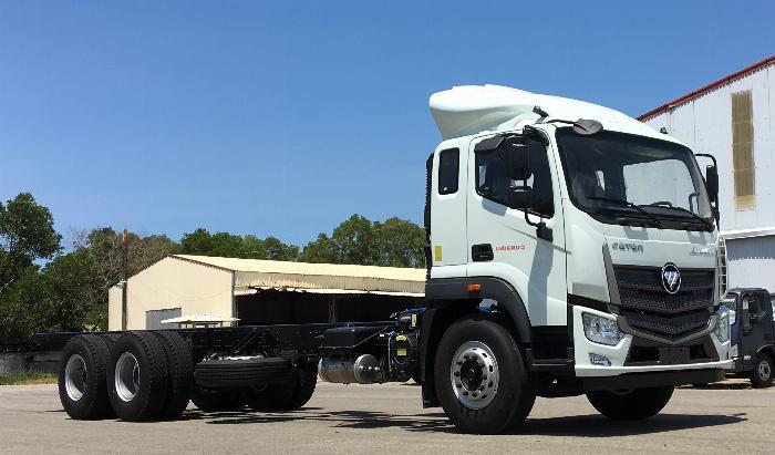 xe tải thaco 14 tấn - auman c240.e4 - thùng 9,5m - động cơ cummins 1