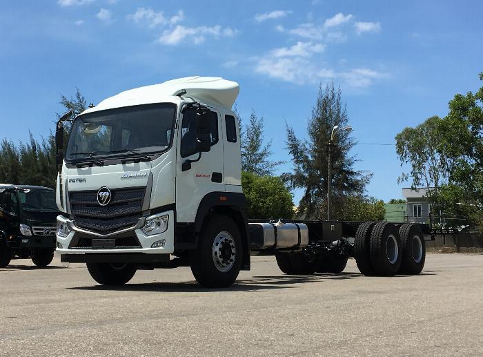 xe tải thaco 14 tấn - auman c240.e4 - thùng 9,5m - động cơ cummins 2