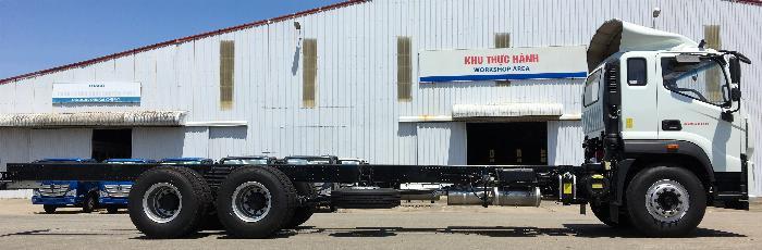 xe tải thaco 14 tấn - auman c240.e4 - thùng 9,5m - động cơ cummins 3