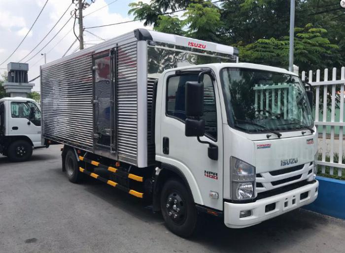 Giá xe tải isuzu 1.490kg - Mui phủ...
