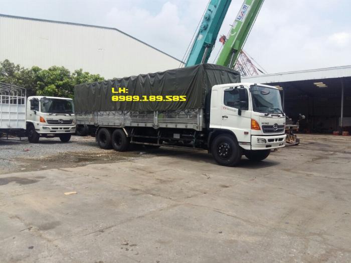 Xe tải Hino 500 FL, FM, Xe hino 15t/ hino 15 tấn mui bạt, kín 1