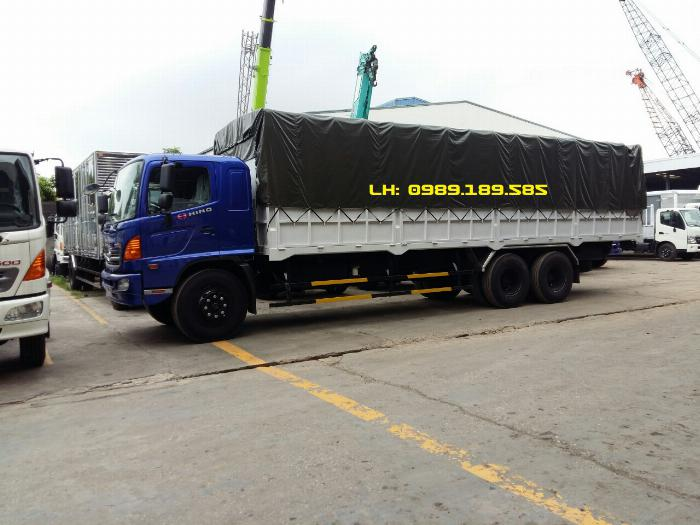Xe tải Hino 500 FL, FM, Xe hino 15t/ hino 15 tấn mui bạt, kín 2