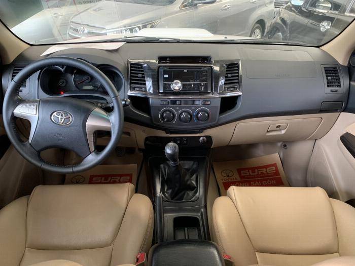 Bán Toyota Fortuner 2.4G máy dầu số sàn sx 2016. 3