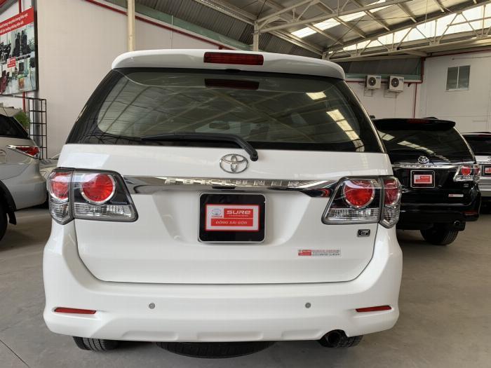 Bán Toyota Fortuner 2.4G máy dầu số sàn sx 2016. 4