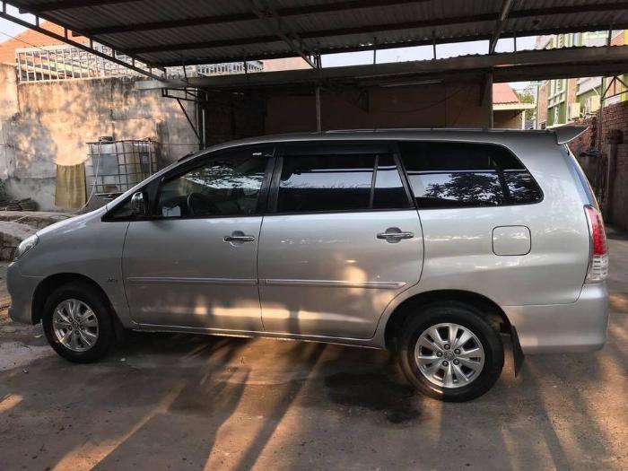 Gia đình cần bán xe Toyota innova 2008, số sàn 4