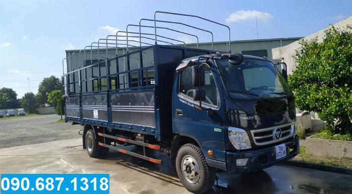 Bán xe tải trả góp Thaco OLLIN720.E4 7 Tấn thùng dài 6m2 Long An 0