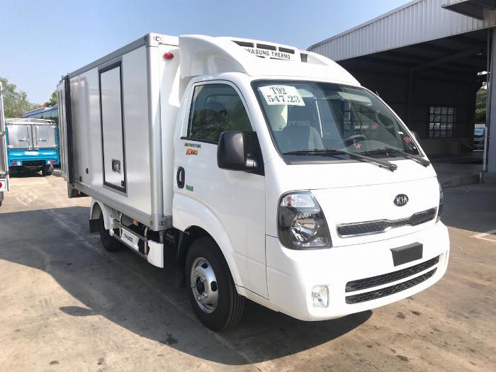 Xe tải K250 thùng đông lạnh tải trọng 1990 kg lưu thông quận 1 2