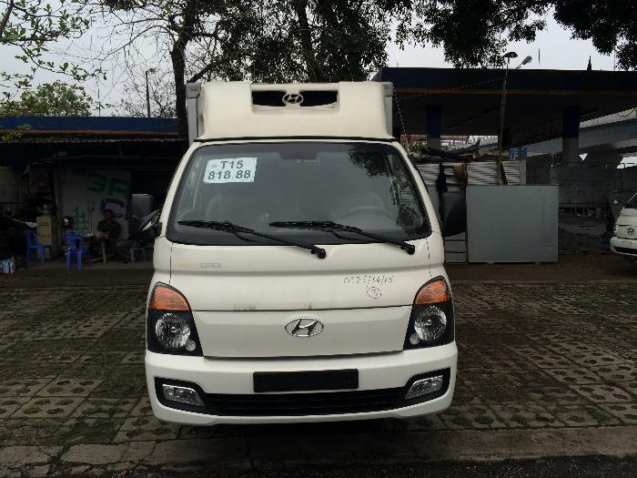 Xe tải đông lạnh 1 tấn nhập khẩu nguyên chiếc Hyundai Porter II