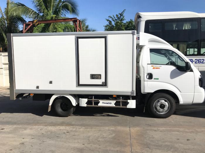 Xe tải K250 thùng đông lạnh tải trọng 1990 kg lưu thông quận 1 4