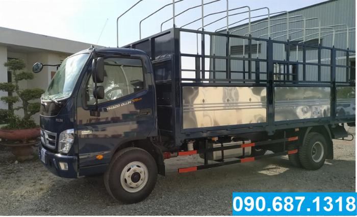 Bán xe tải trả góp Thaco OLLIN720.E4 7 Tấn thùng dài 6m2 Long An 2
