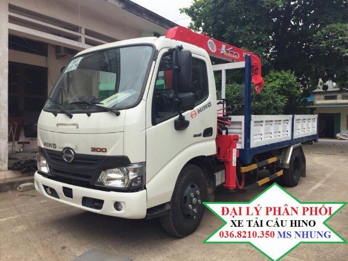 Cần bán xe cẩu Hino XZU650L 1,05 tấn gắn cẩu Unic 2 tấn 5 4 khúc mới 2