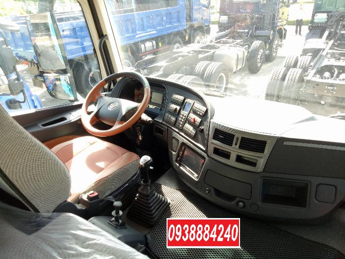 Bán xe tải Thaco Auman 4 chân 17 tấn C300.E4 Long An Tiền Giang Bến Tre 7