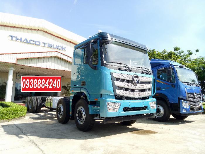 Bán xe tải Thaco Auman 4 chân 17 tấn C300.E4 Long An Tiền Giang Bến Tre 0