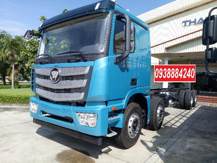 Bán xe tải Thaco Auman 4 chân 17 tấn C300.E4 Long An Tiền Giang Bến Tre 11