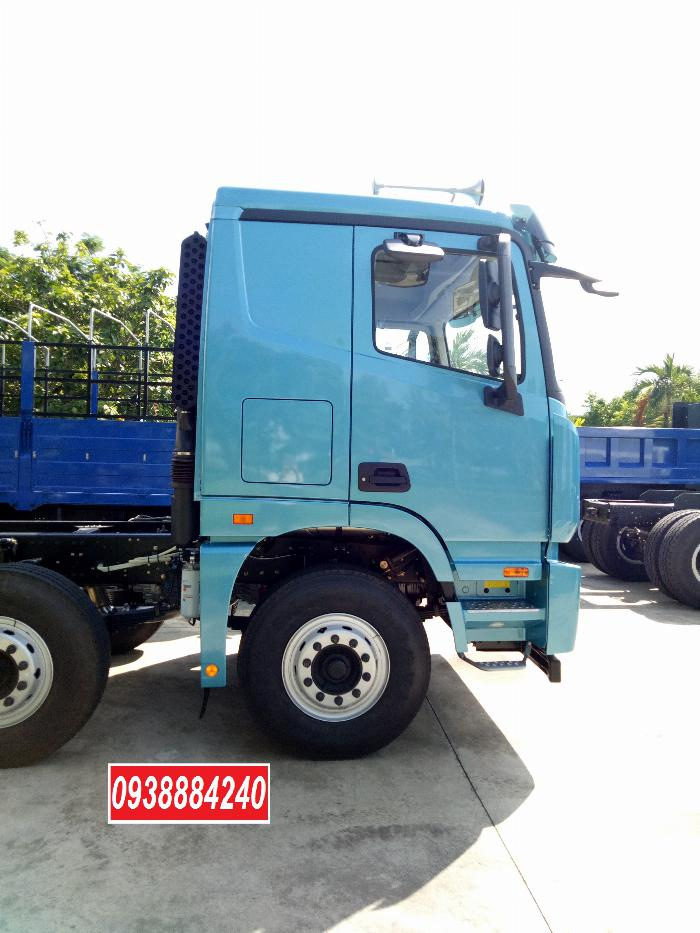 Bán xe tải Thaco Auman 4 chân 17 tấn C300.E4 Long An Tiền Giang Bến Tre 17