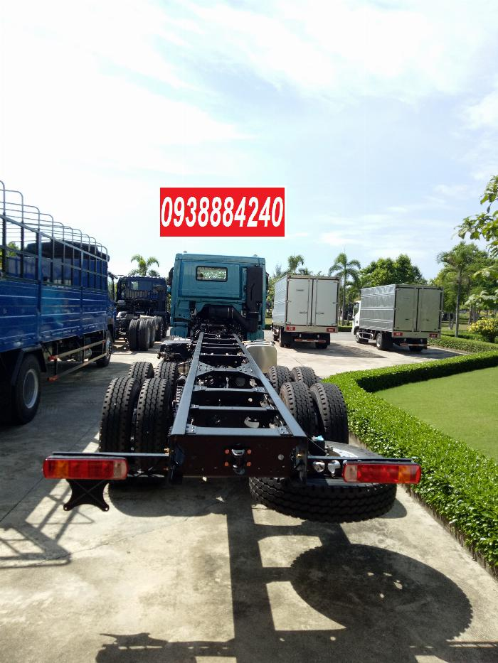 Bán xe tải Thaco Auman 4 chân 17 tấn C300.E4 Long An Tiền Giang Bến Tre 18