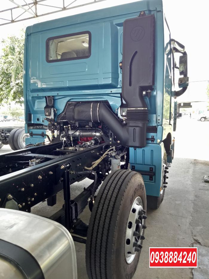 Bán xe tải Thaco Auman 4 chân 17 tấn C300.E4 Long An Tiền Giang Bến Tre 19