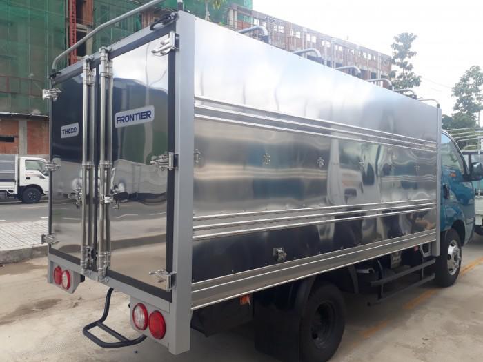 Cần bán xe tải KIA K250 thùng mui bạt tải trọng 2,49 tấn, hỗ trợ trả góp 75% giá trị xe. thủ tục đơn giản nhanh chóng. 2