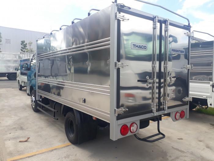 Cần bán xe tải KIA K250 thùng mui bạt tải trọng 2,49 tấn, hỗ trợ trả góp 75% giá trị xe. thủ tục đơn giản nhanh chóng.