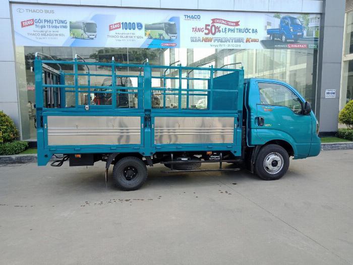 Cần bán xe tải KIA K250 thùng mui bạt tải trọng 2,49 tấn, hỗ trợ trả góp 75% giá trị xe. thủ tục đơn giản nhanh chóng. 4