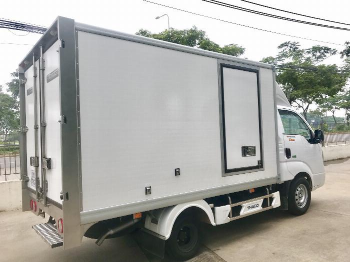 Xe tải Đông Lạnh KIA K200 tải 1,49 tấn chạy hẻm Sài Gòn