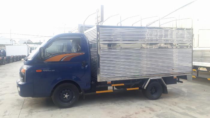 xe tải chạy trong thành phố 1,5 tấn hyundai porter h150 5