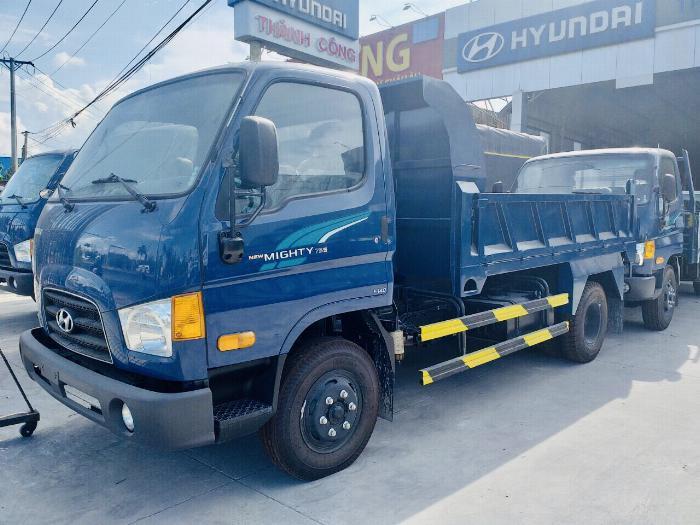 xe tải hyundai 4 tấn  mighty 75s tổng tải 7,5 tấn