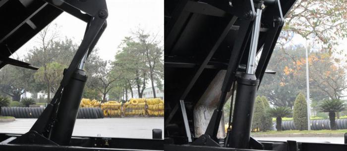 xe ben sinotruck 9 tấn 5 giảm giá trong tháng 8