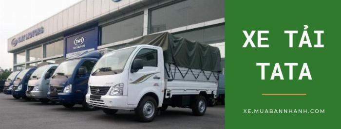 Xe MuaBanNhanh nơi mua xe TaTa uy tín từ nhiều đại lý trên toàn quốc