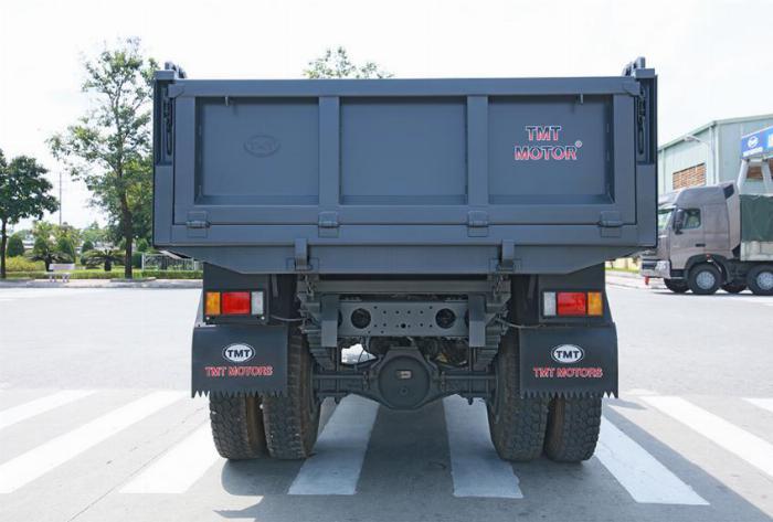 xe ben TMT DF13285 8 tấn 5 khuyến mãi 90 triệu 0
