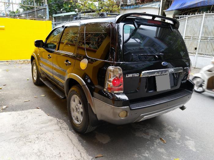 Bán Ford Escape 2006 tự động màu đen cực sang trọng